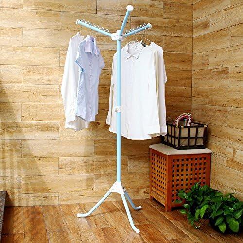 Multi Portable Pliant debout Tier Vêtement Vêtements Chemise Cintre séchoir étendoir