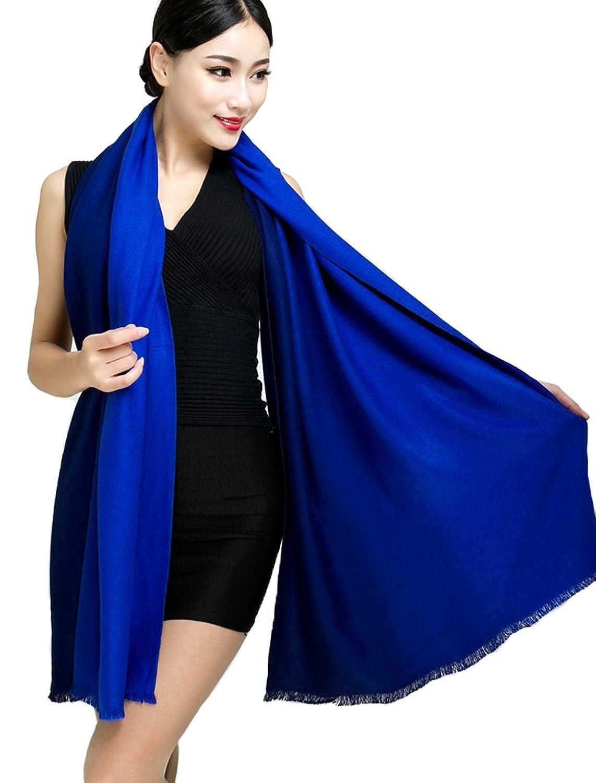 XXL Damen Schal Tuch Halstuch Poncho aus Kaschmir Pashmina super weich in verschiedenen Farben Größe 175cm von DesiDo®