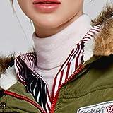 NUWFOR Women Warm Hoodie Faux Fur Lined Down