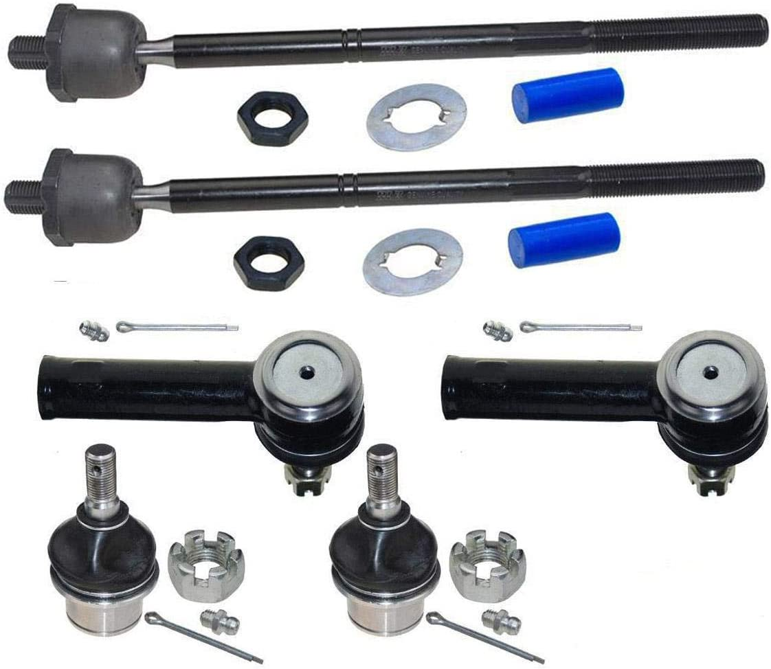Lower Ball Joints 2 2PC Front Suspension Kit - For Ford F150 04 2004 05 2005 06 2006 07 2007 08 2008 Tovasty SK25011020703