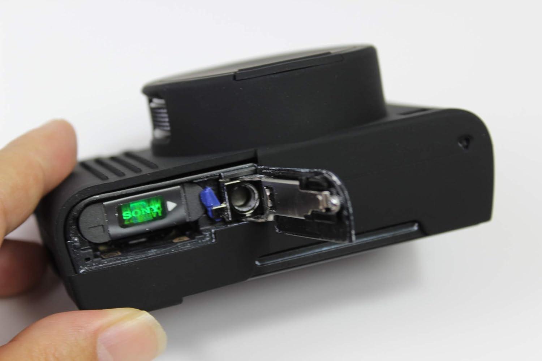 RX100 VII Funda de c/ámara de Gel de Silicona para Sony Cyber-Shot DSC RX100M7 Funda Protectora de Goma Suave para c/ámara Negra