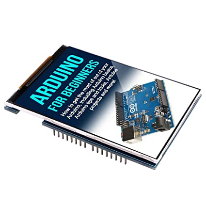 Kuman UNO R3 3 5 TFT Display Screen with SD Card Socket for Arduino