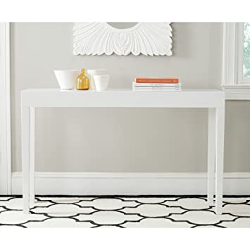 Amazoncom Safavieh Home Collection Kayson White Console Table