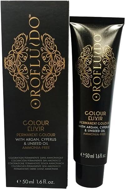 Orofluido Colour Elixir Tinte Permanente, Tono 6.3 Dark Golden Blonde - 50 ml