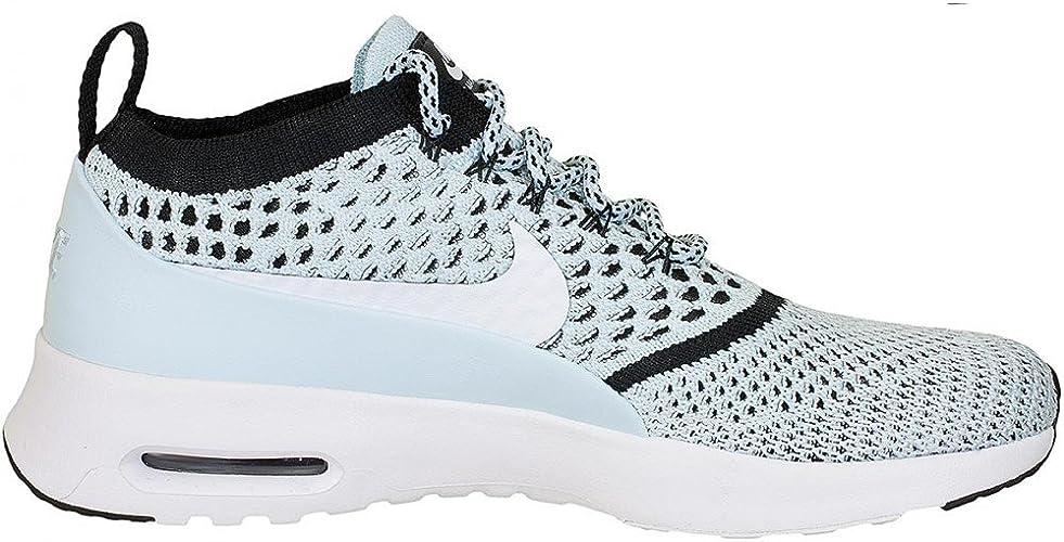 Nike Damen Sneaker Air Max Thea Ultra Flyknit blauweiß 42