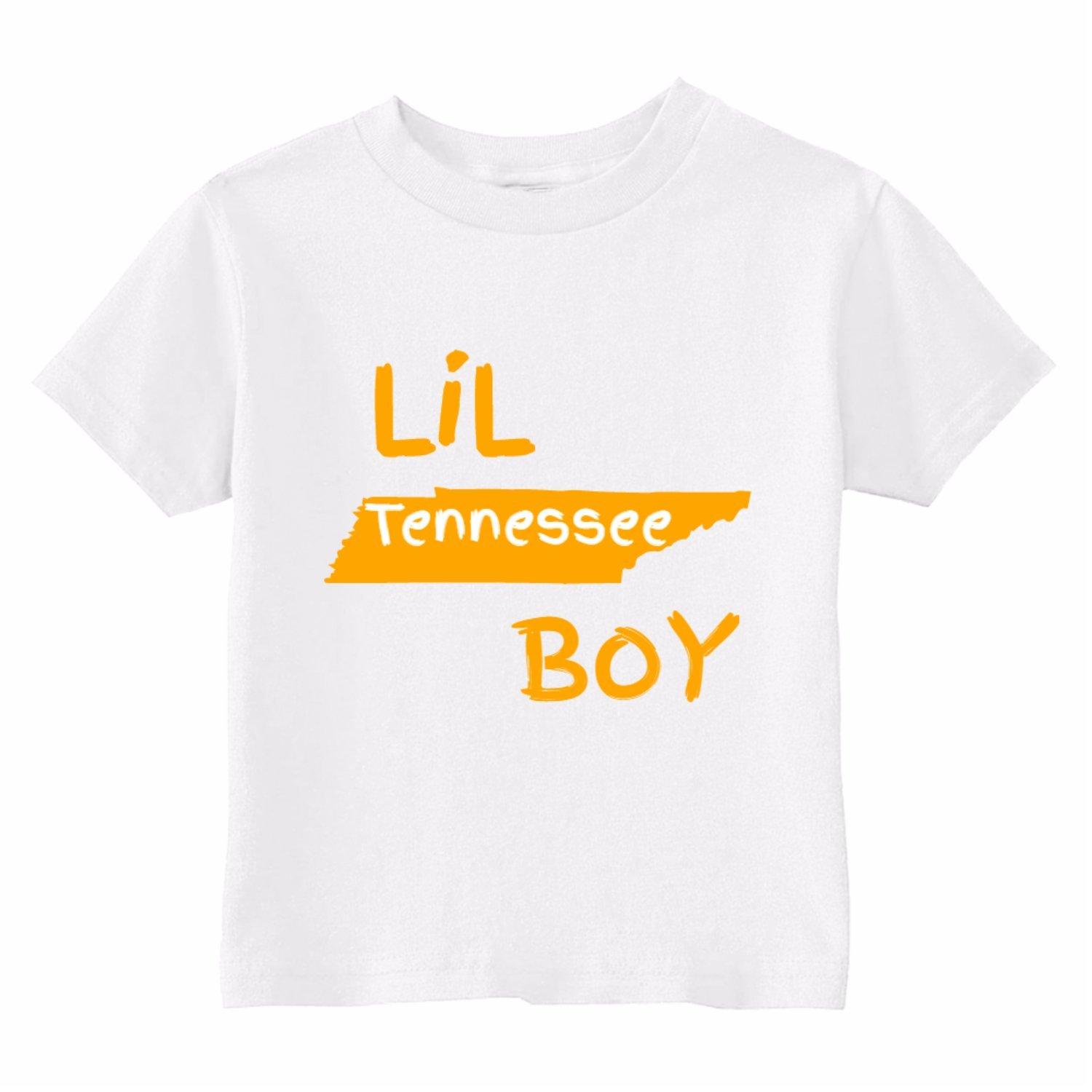 Custom Kids Little Tennessee Boy Toddler T-Shirt U.S