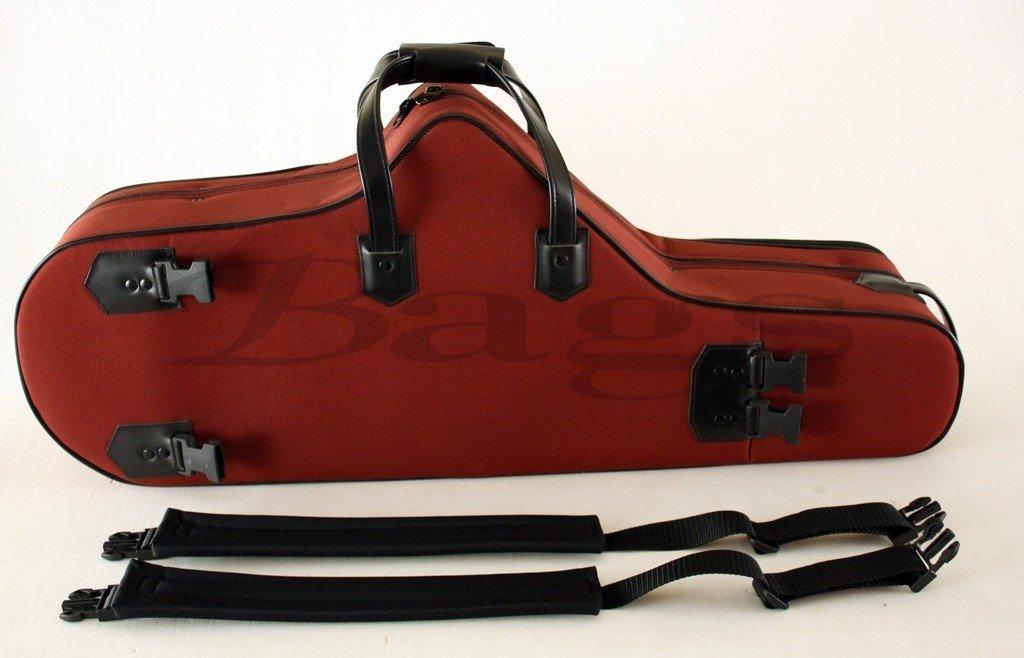 ESTUCHE SAXOFON TENOR - Bags (30407) Confort con Forma (Mochila Bolsillo Asa y Bandolera) Burdeos by Bags (Image #1)
