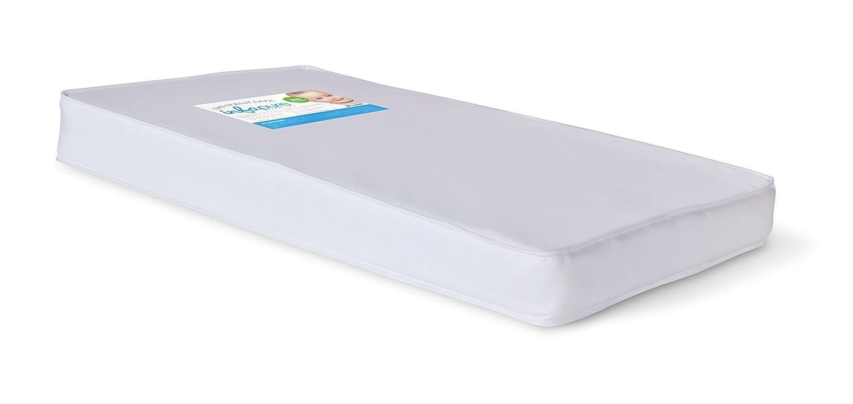 Amazon.com : Infapure compacto cuna colchón de espuma, Blanco, 4