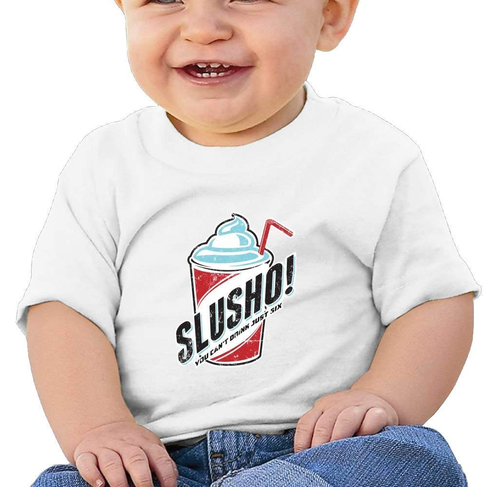 DAISYBARKER ICE Washed Cotton Baby Boy Shirt Cute Summer T Shirt Funny