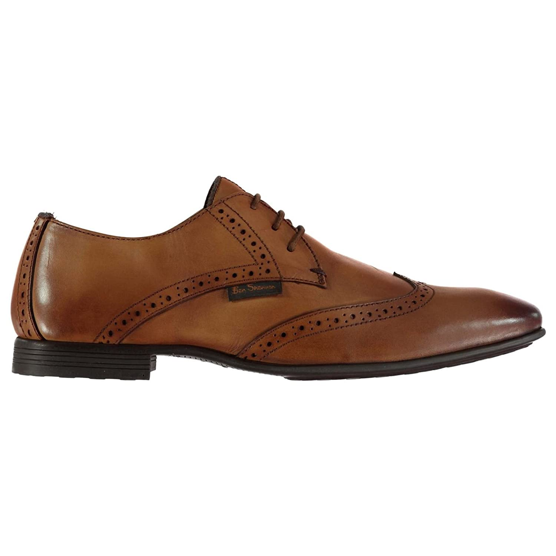95087e3e64036f 60%OFF Ben Sherman Hommes Archie Derby Chaussures Habillées Richelieu En  Cuir