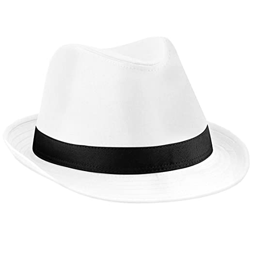 Amazon.com  Beechfield Fedora  Clothing 0e2d97cc637