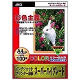 Apika inkjet printer paper (Super High Grade) Mat Type A4 WP702 (japan import)