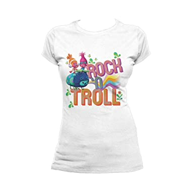 b496040d Trolls Women's Rock N T-Shirt at Amazon Women's Clothing store: