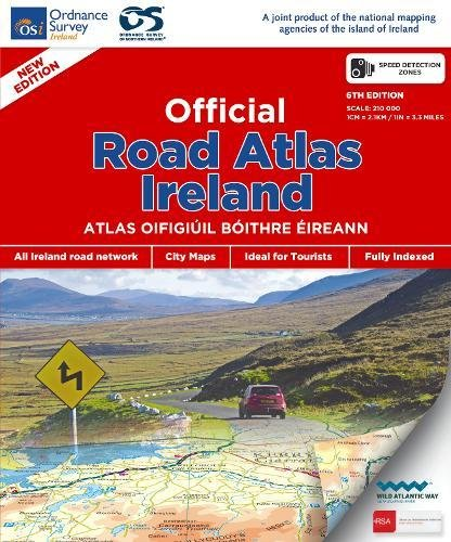 (Official Road Atlas Ireland )