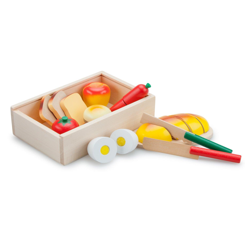 New Classic Toys - Essen schneiden Set