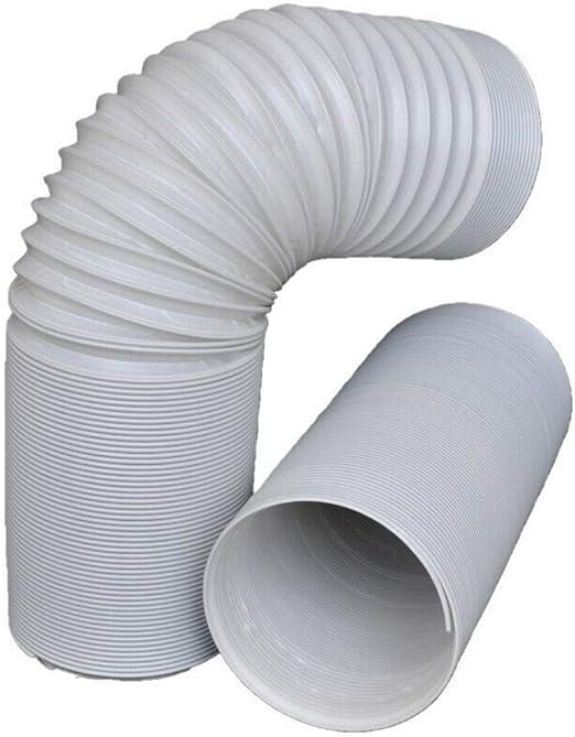 2m Abluftschlauch Ø13cm PP Flexibel Luftschlauch Mobile Klimageräte Klimaanlagen