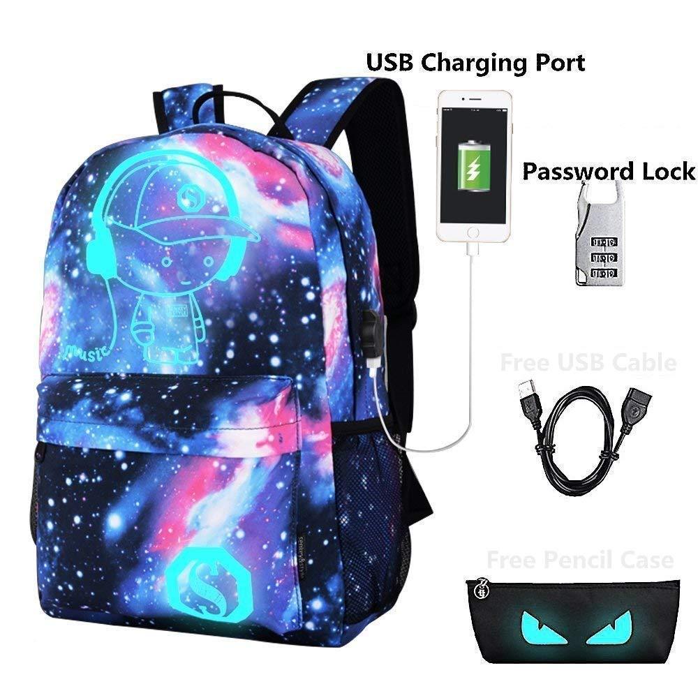 Lmeison Backpack Daypack Shoulder Bag Laptop Bag, Unisex Fashion Rucksack Laptop Travel Bag College Bookbag