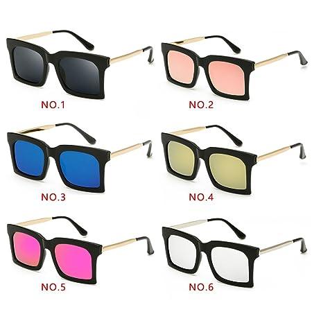 LUFA Occhiali da sole da esterno con PC lenti della montatura degli occhiali da sole di protezione UV400 al4w7