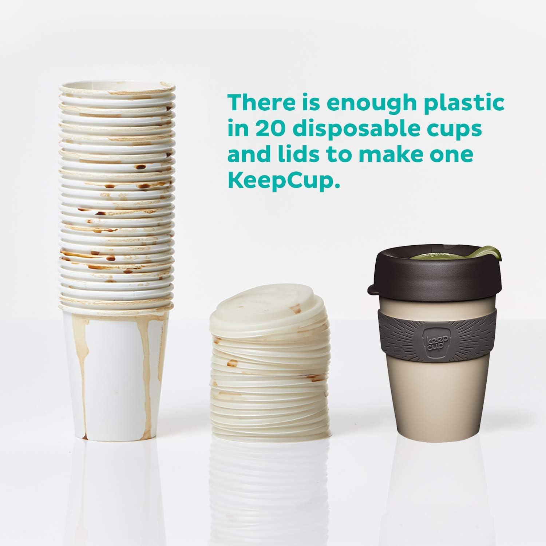 KeepCup Original Avena 12oz plastica