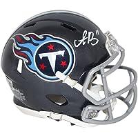 $89 » AJ Brown Autographed/Signed Tennessee Titans Speed Mini Helmet BAS