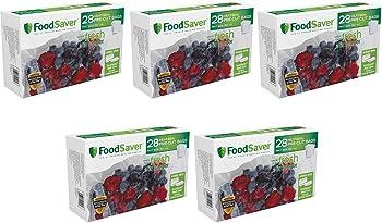140-Count FoodSaver Pint-Size Pre-Cut Heat-Seal Vacuum-Seal Bags