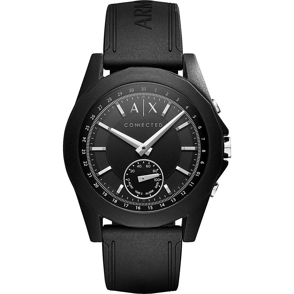 A/X Armani Exchange アクティブスマートウォッチ B01MUNFYEH ブラック ブラック