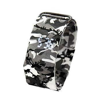 Teepao Relojes Digital, Smartwatch Creativo para Hombre y ...