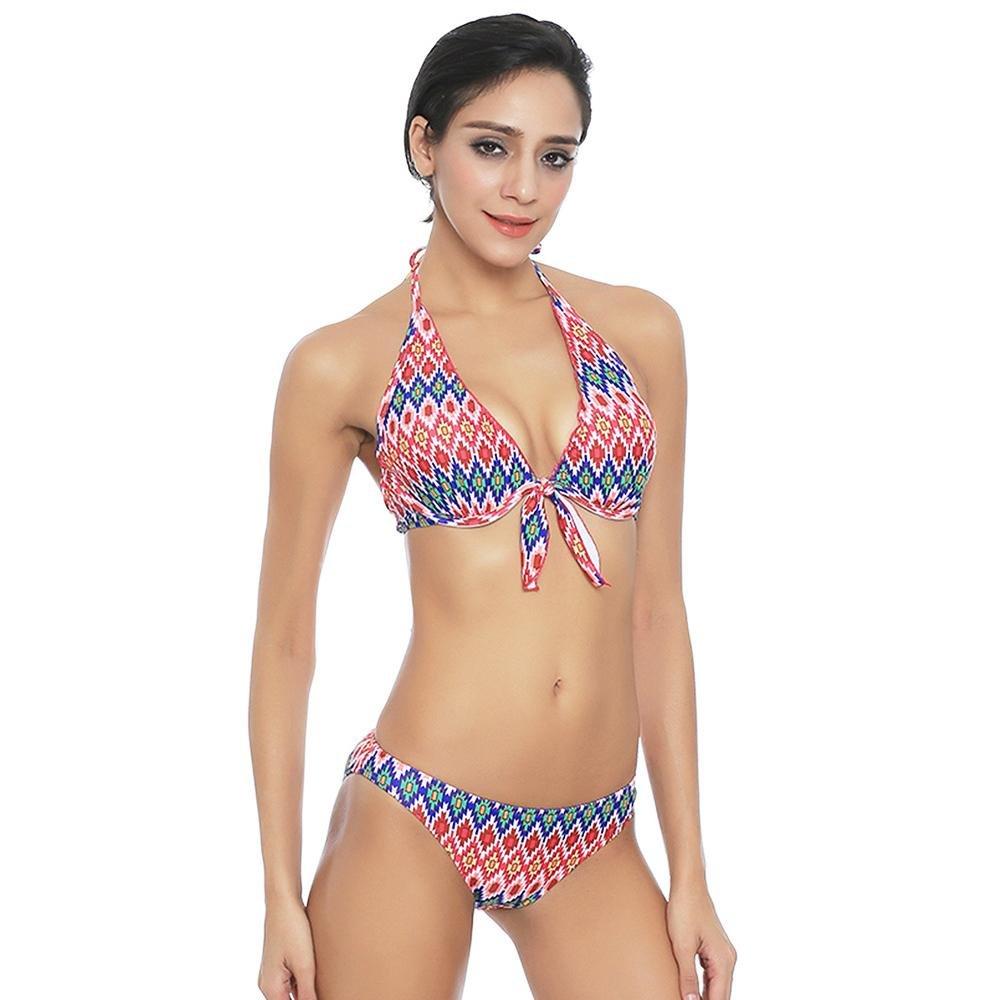TOYUN Dreieckigen Bikini Badeanzug Strand Urlaub