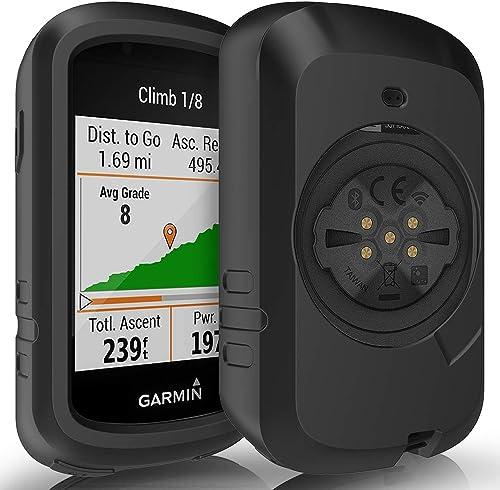 TUSITA Case for Garmin Edge 830 – Anti Drop Silicone Protective Cover – Cycling GPS Computer Accessories