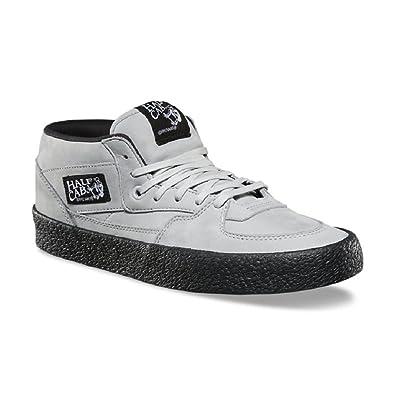 08cb80f89f Vans Half Cab DX Crepe Glacier Gray Black Men s Shoes Grey Size  8.5 ...