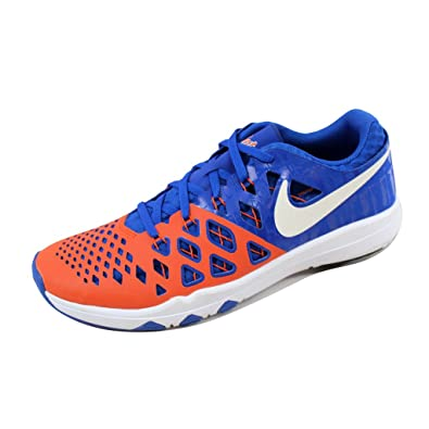 Nike Mens Train Speed 4 University Orange/White/Black Synthetic Cross Trainers Shoes 10 M US