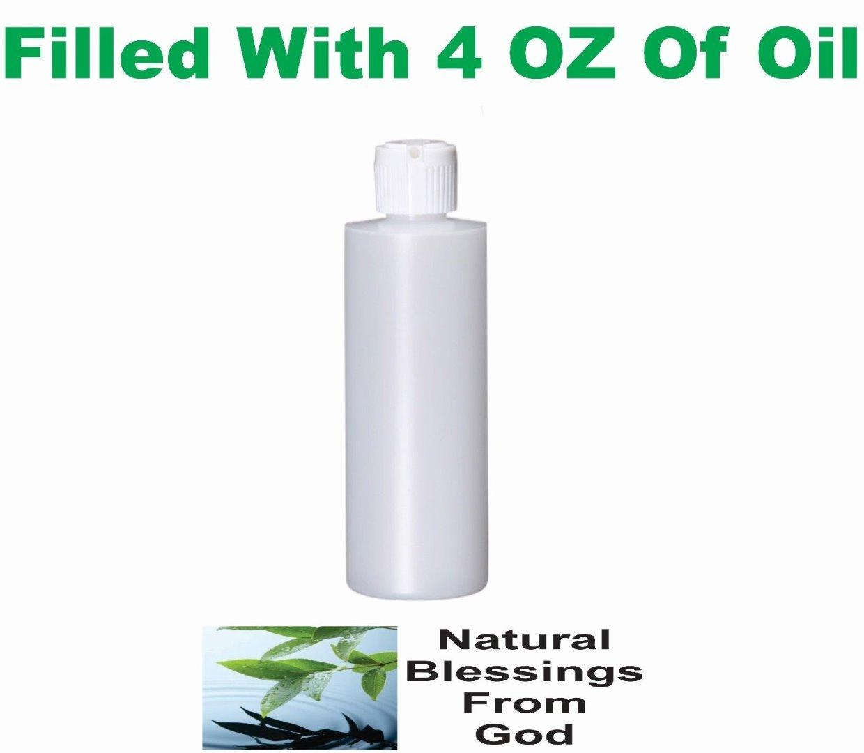 Black Coconut UNCUT Scented Diffuser Incense Oil Fragrance Home Oil Burner 4 OZ Plastic Bottle