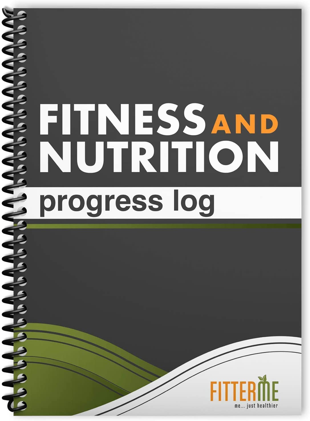 Food and Exercise Journal - Fitness and Nutrition Planner for Health and Weight Loss - Gym Workout Log Book and Diet Journal - Wellness Tracker with Daily Inspirational Quotes - Sturdy Binding