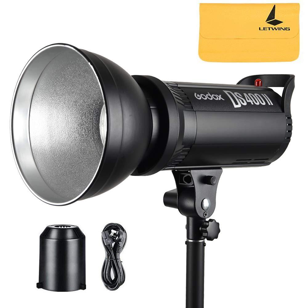 Godox DS400II 400w GN76 2.4G Wireless X System Studio Strobe Flash Light with Bulbs 110v by Godox