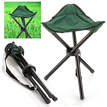 Marvelous Lightweight Backpacking Chair Color Army Green Pocket Folding Chair With 3  Leg Stool