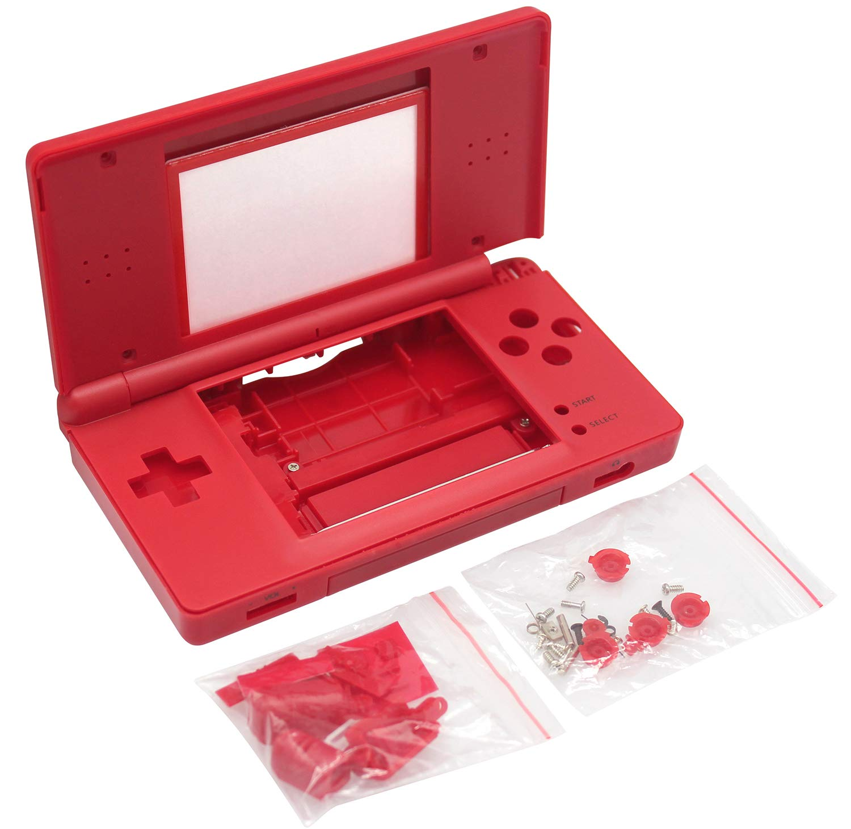 Carcasa roja para Nintendo DS Lite NDSL