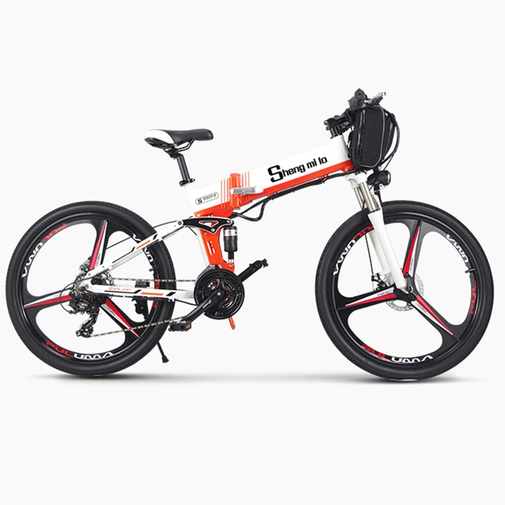 Bicicleta de montaña eléctrica Bicicleta eléctrica de nieve ...