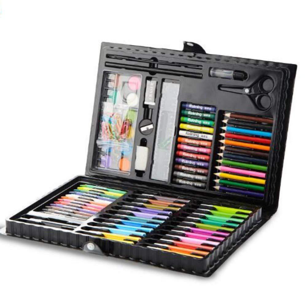 HQYDBB Kids Premium Art Set, 118 Set di Articoli per la Pittura per Bambini, Materiale Scolastico per Scuola d'acquerello