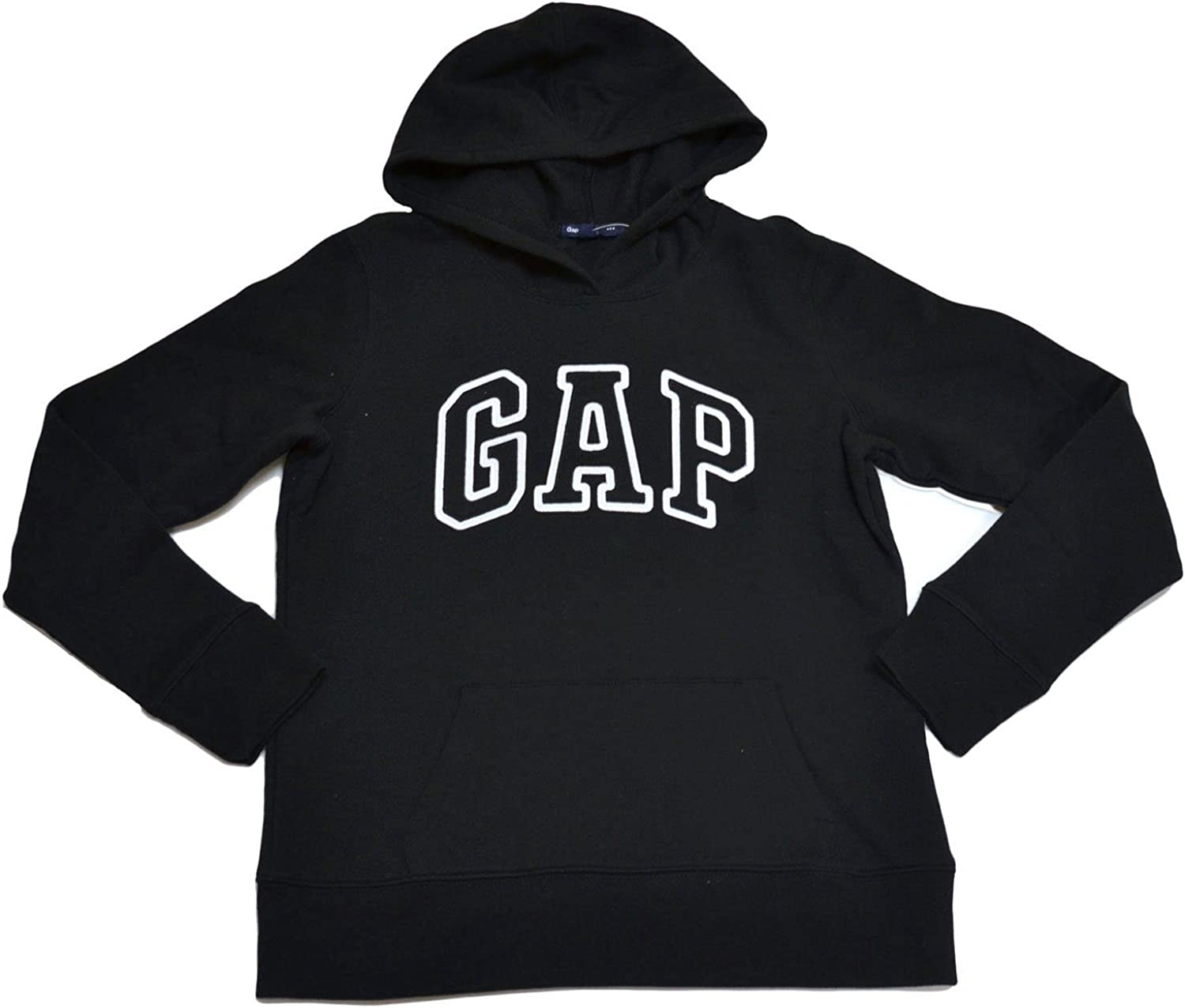 GAP Womens Fleece Arch Logo Pullover Hoodie