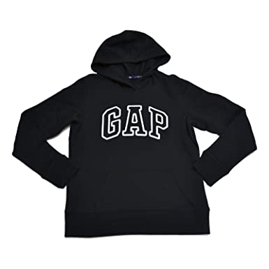 GAP Womens Fleece Arch Logo Pullover Hoodie at Amazon Women's ...