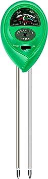 Atree 3-in-1 Indoor & Outdoor Soil pH Tester