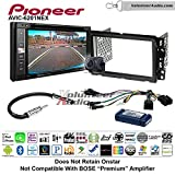 Pioneeer AVIC-6201NEX Double Din Radio Install Kit with GPS Navigation Apple CarPlay Android Auto Fits 2013-2014 Buick Enclave, 2013-2014 Chevrolet Traverse (Bose and Onstar)
