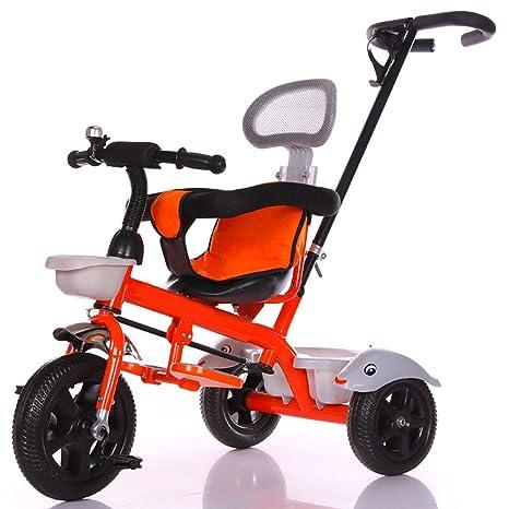 WFHhsxfh Carro Triciclo Plegable for niños 1-3-6 años de ...