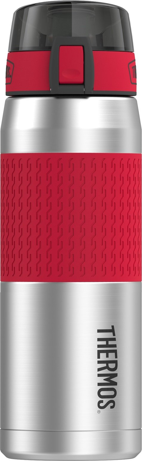 Thermos 24 Ounce Stainless Steel Hydration Bottle, Cranberry