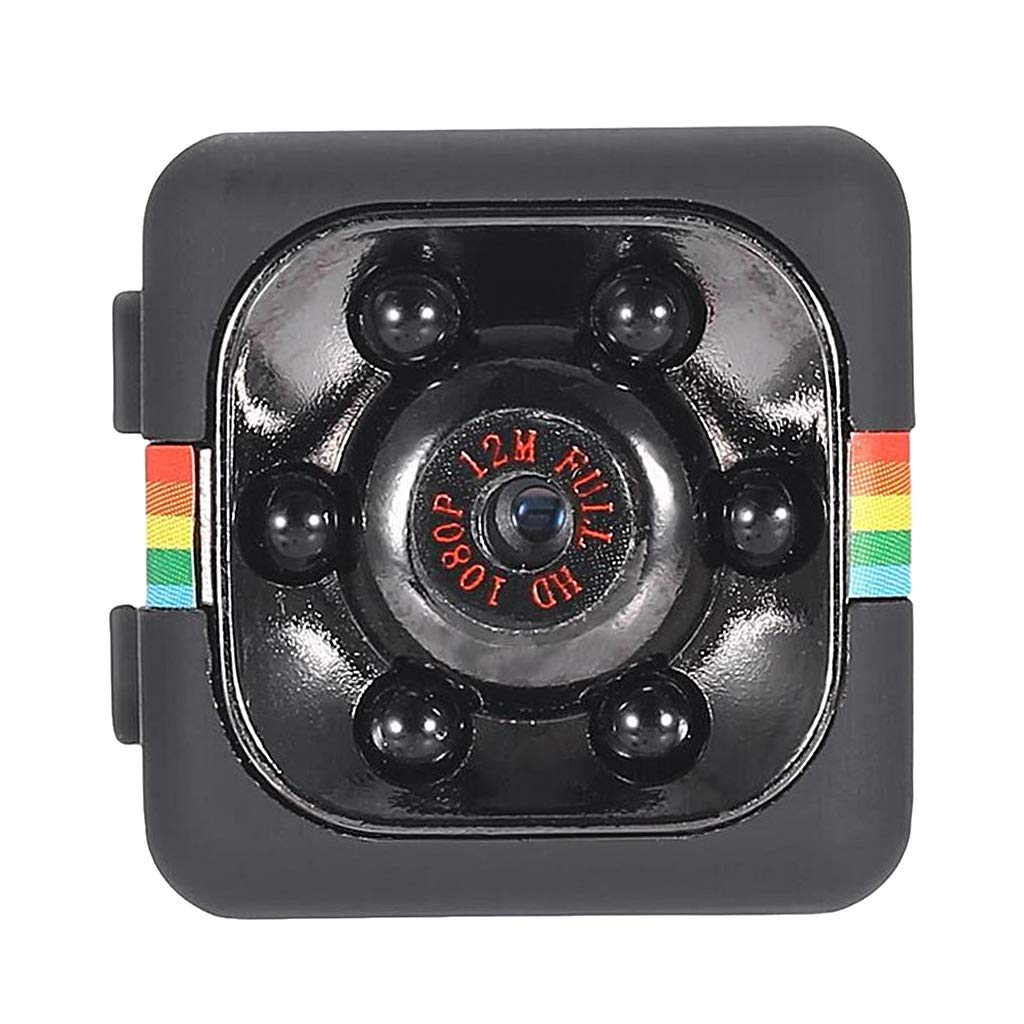 Gazechimp SQ11 C/ámara Esp/ía DVR para Coche 1080P Full HD Vi-si/ón Nocturna WiFi Video Recorder Mini Sport DV