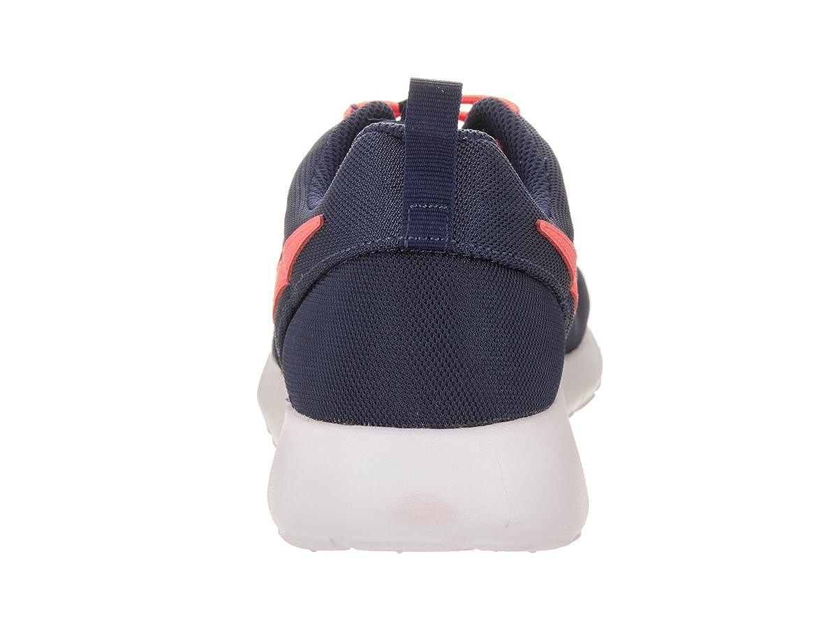 GS Binary Blue//Lava Glow White Running Shoe 4.5 Kids US Nike Kids Roshe One