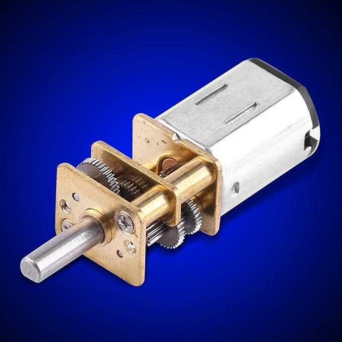 20RPM Motoriduttore DC 6V Motoriduttore riduzione ingranaggi coppia 1 20RPM 1000 per riduttore per auto giocattolo 10//15
