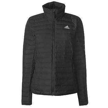 Adidas W VARILITE Soft - Chaqueta, Mujer, Gris(Carbon): Amazon.es: Deportes y aire libre