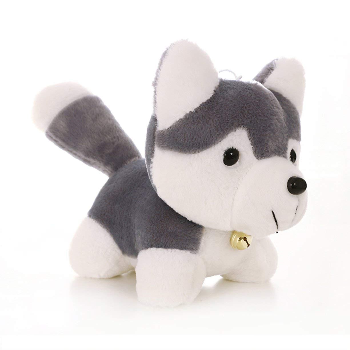 Siberian Husky Súper Super Lindo Juguete de Peluche Modelo de Perro de Simulación de Juguete Niños Apaciguar Muñeca Decoración del Hogar Detectoy