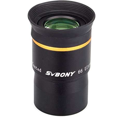 Sky Telescope Astronomical Telescope Accessories 1.25-inch Wide-Angle Eyepiece 66 Degrees 6mm Waterproof